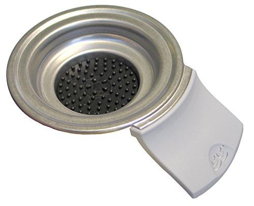 Philips Senseo - Soporte para monodosis de 2 tazas para cafeteras HD7810 / HD 7811 / HD7812, color gris