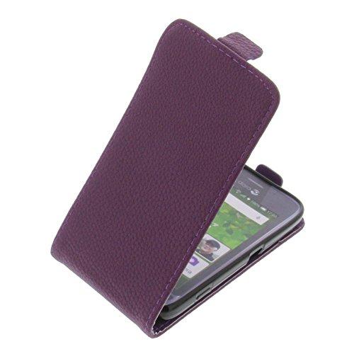 foto-kontor Tasche für Doro Liberto 820 Mini Smartphone Flipstyle Schutz Hülle lila
