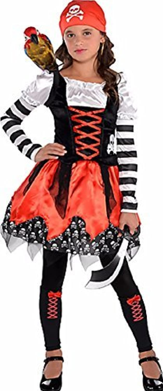 Envio gratis en todas las ordenes Cross Bone Cutie - 4 Piece Costume Set Set Set - Talla Small (4-6) by Costumes USA  de moda