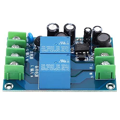 Módulo de conmutación de alimentación de CA YX-Q01, placa de módulo de alimentación de suministro de 2 canales 2 entradas 1 salida para ordenadores portátiles 10A AC85V-240V