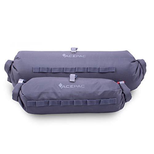 ACEPAC Bar Dry Bag Bolsa de Manillar, Unisex Adulto, Gris, 1