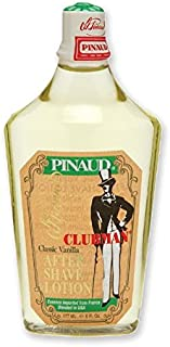 CLUBMAN Classic Vanilla After Shave Lotion, 6 oz (並行輸入品)