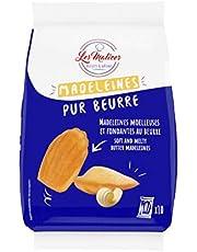 Les Malices - Magdalenas con mantequilla fresca, 10 paquetes de 10 unidades (2,5 kg)