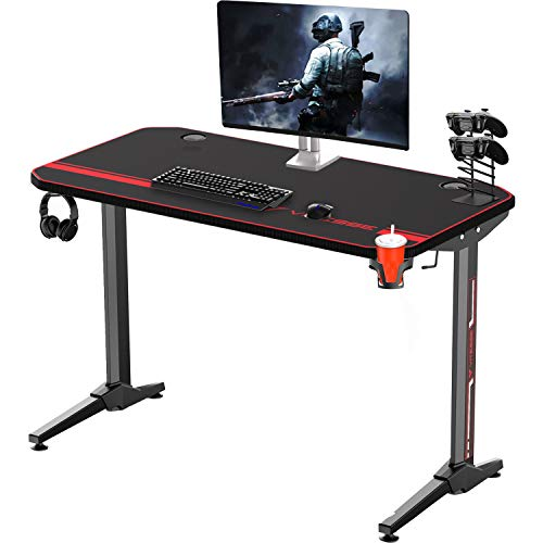 Vitesse 47' Gaming Desk Racing Style Computer...
