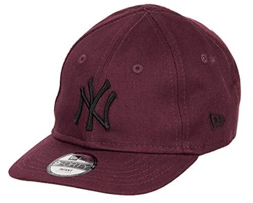 New Era New York Yankees Cap New Era MLB Kinder Baby Kappe Verstellbar Baseball Cap Weinrot - Infant