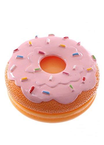 Strawberry Icing Donut Scented Fun Novelty Moisturiser Hand Cream Pink