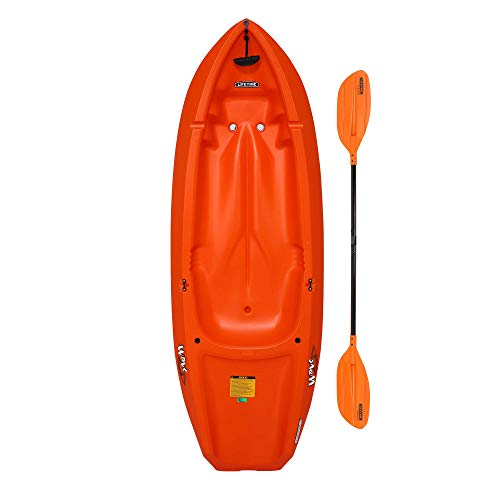 Lifetime Youth Wave Kayak with Paddle - 6- Feet (Orange)