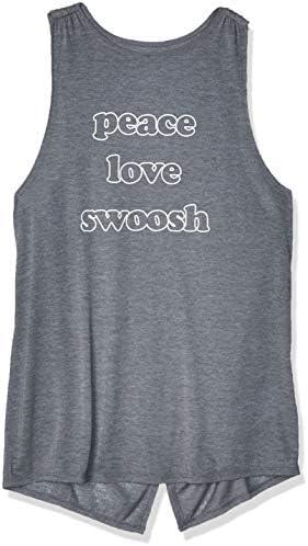 Nike Camiseta de Tirantes Gris para Mujer - Bv4371-021