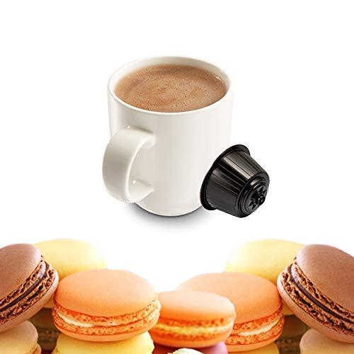 KICKKICK 32 Capsule Macaron alla Mandorla Compatibili Nescafé Dolce Gusto - Bevanda Solubile in...