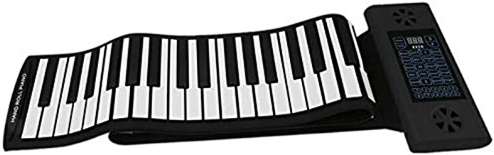 Konix 61 Keys Flexible Electronic Roll up Piano with Bluetooth & Dual Speaker