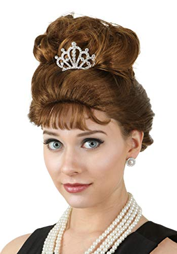 Fun Costumes Breakfast at Tiffany's Holly Golightly Wig Standard