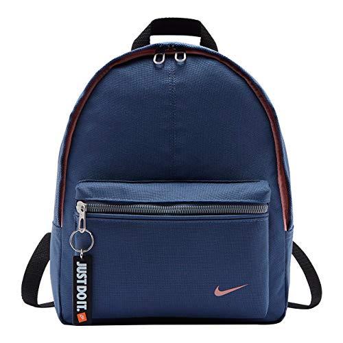 Nike Ba4606-492 Zainetto per bambini, 36 cm, Diffused Blu/Nero/Bleached Coral