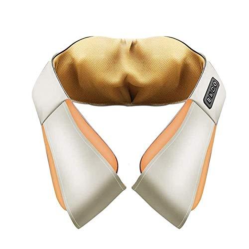 YBQ Massage Rückenmassagegerät mit Wärme, Shiatsu Hals SchulterMassager, elektrische Deep Tissue kneten, for Beine und Fuß-Muskel-Schmerz-Entlastung