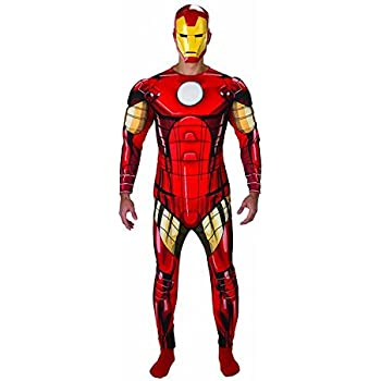 Rubies s Oficial de Marvel Iron Man Deluxe Disfraz Adulto – X ...