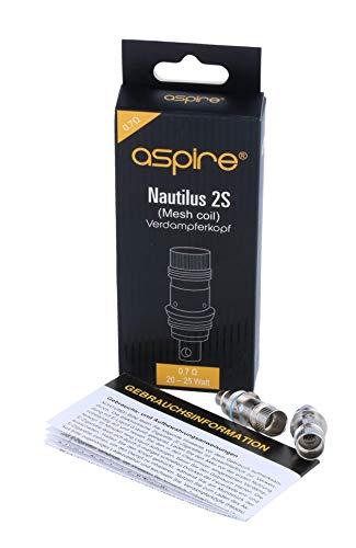 Aspire Nautilus 2S Mesh Heads 0,7 Ohm (5 Stück pro Packung)