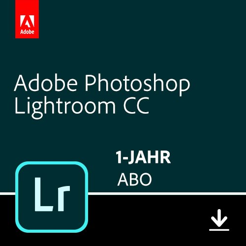 Adobe Photoshop Lightroom 1TB | 1 Jahr | PC/Mac | Download