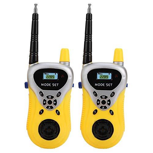 QCHEA Niños Walkie Talkie Toy, Toy Walkie Talkie, Kids Wireless Walkie Talkie para niños Niños