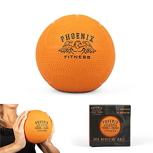 Phoenix Fitness - 3KG Medicine Ball - BTRY929 -. Boyz Jouets
