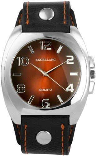 Excellanc Herren-Uhren mit Polyurethan Lederband 295027000055