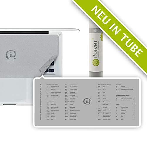 Shift iSaver2 K Tube OSX Keyboard Hülle für Apple MacBook (2016) grau