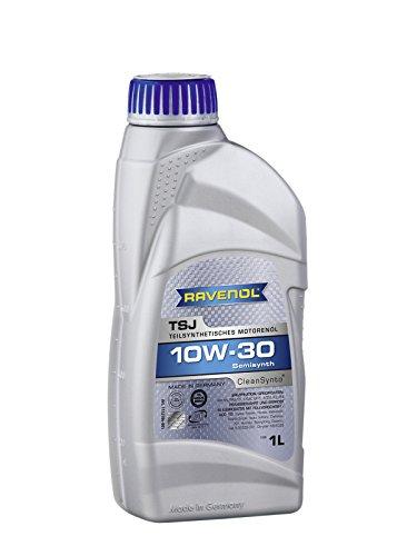 RAVENOL TSJ SAE 10W-30 / 10W30 Teilsynthetisches Motoröl, ACEA A3/B4 (1 Liter)