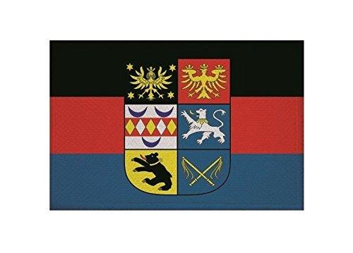 U24 Aufnäher Ostfriesland Fahne Flagge Aufbügler Patch 9 x 6 cm