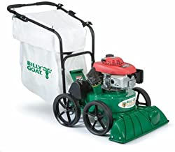 Billy Goat TKV650SPH Lawn and Litter Vacuum, Self Propelled 187 cc Honda Engine with On Board 2-Inch Chipper