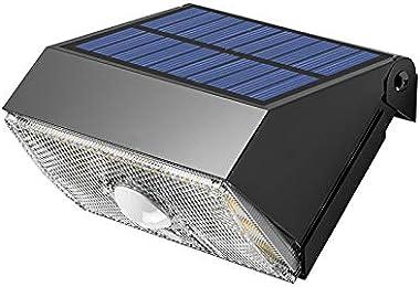 IFITech Outdoor Solar Lights, Waterproof 20 LED Solar Motion Sensor Lights for Front Door, Garden, Yard, Patio, Deck, Garage