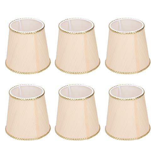 Tomanbery Cubierta de lámpara de diseño Maravilloso Cubierta de lámpara Pantalla de lámpara Cubierta de lámpara portátil de Primera Calidad para lámpara para el hogar