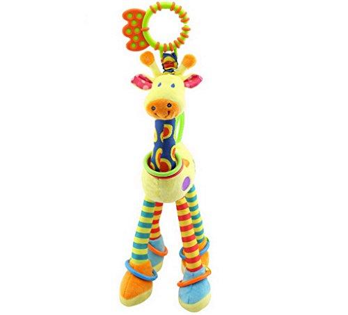 Baby Toddler Plush Activity Crib Stroller Soft Toys Hanging BB Giraff