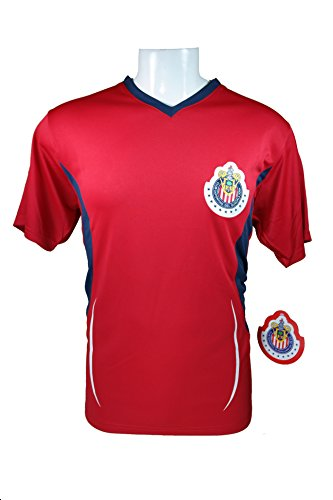 Chivas De Guadalajara Official Adult Soccer Training Poly Jersey -005 Medium