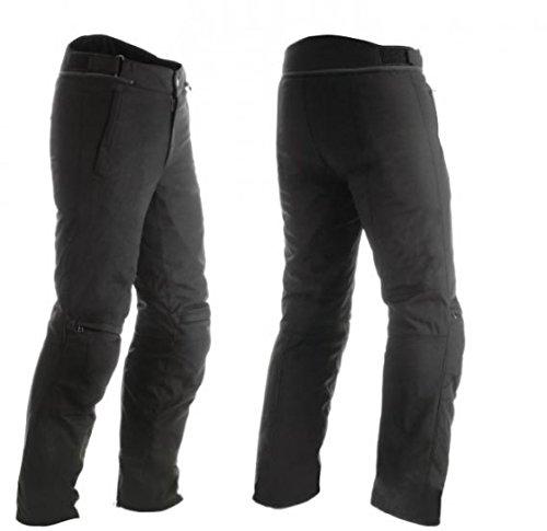 DAINESE Pantalón New Galvestone Gore-Tex de moto impermeable 56 Negro