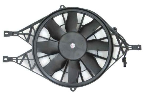 DEPO 334-55024-100 Replacement Engine Cooling Fan Assembly (This product is an aftermarket product. It is not created or sold by the OE car company)