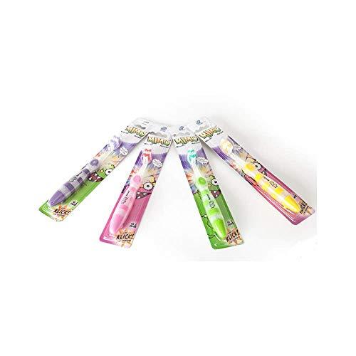 MIMO elektrische Zahnbürste blinkende LED-Zahnbürste Kinderzahnbürste Zähneputzen für Mädchen in Rosa