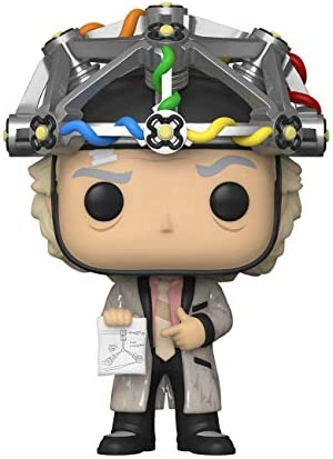 Funko Pop Movies Back to The Future Doc with Helmet product image