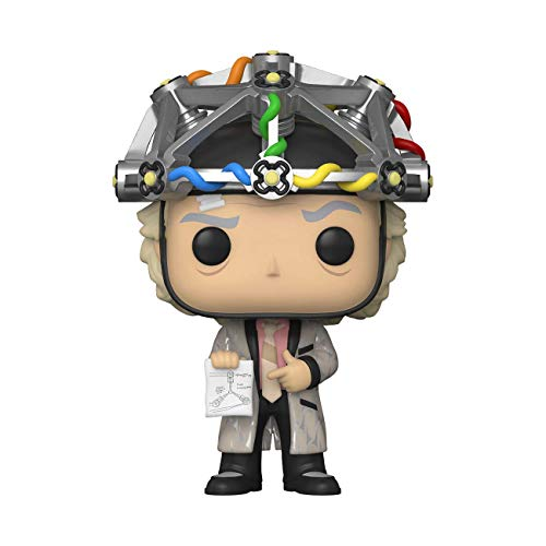 Funko Pop! Movies: Back to The Future - Doc with Helmet