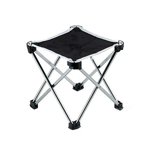 Camping Kruk, Comfortabel ademend Kruk volwassen Kruk Folding Kruk Portable BBQ Krukken Fold viskrukje (Color : Gray, Size : 22 * 28.5CM)