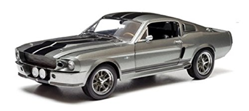 Greenlight coleccionables - 18220 - Ford Mustang Shelby - GT 500 Custom - Eleanor - Escala 1/24 - Metal Gris / Negro