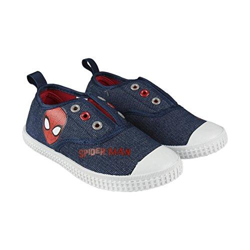 Spiderman S0710927, Basket Mixte Enfant, Gris, 28 EU
