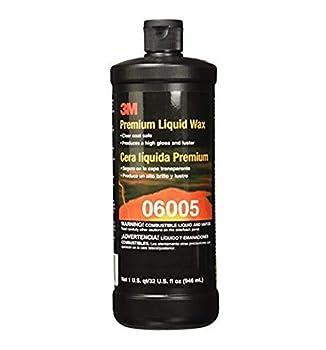 3M Premium Liquid Wax 06005 1 qt  32 fl oz/46 mL