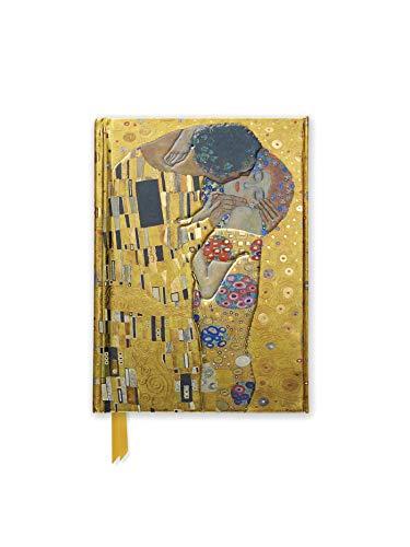 Premium Notizbuch DIN A6: Gustav Klimt, Der Kuss: Unser hochwertiges, liniertes Blankbook mit festem, künstlerisch geprägtem Einband und ... DIN A 6 mit Magnetverschluss, Band 1)