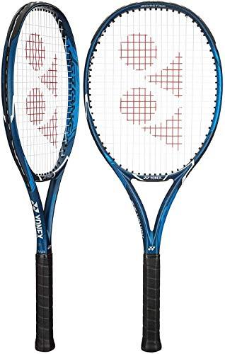 YONEX EZONE ACE Deep Blue Tennis Racquet - Great Racquet for Comfort and Control (4 0/8)