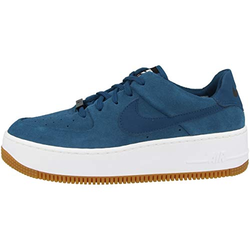 Nike Low Air Force 1 Sage Low - Zapatillas para mujer, color Azul, talla 40.5 EU