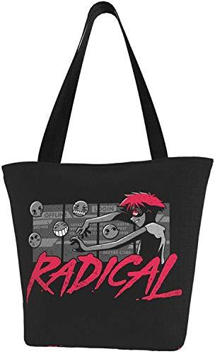 Anime Cowboy Bebop Radical Edward - Bolsa reutilizable para la compra, color, talla Talla única