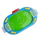 Tomaibaby Mini Mesa de Fútbol Juego de Arcade Batalla de Dedos Juego de Fútbol Atlético Power Shot Fútbol Habilidades de Pie Juego de Mesa para Niños Adultos Fútbol de Mesa