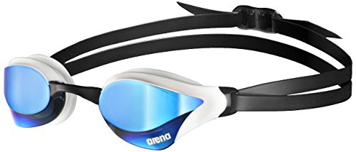 arena Cobra Core Swim Goggles, Blue / White, Mirror