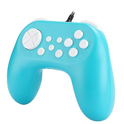 Kleiner Einhand-Controller Schönes Aussehen Gamepad-Controller für Switch(Green)