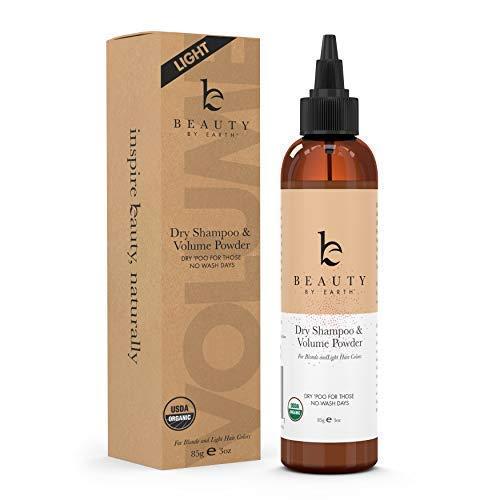 Price comparison product image Organic Dry Shampoo Powder - Hair Volume,  Volumizing Powder,  Natural Dry Shampoo Volume Powder,  Best Dry Shampoo,  Perfect Hair Powder for Travel (Light,  3 oz) (Light)