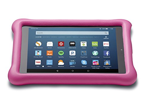 Amazon Kid-Proof Case for Fire HD 8 (Previous Generation - 6th), Pink