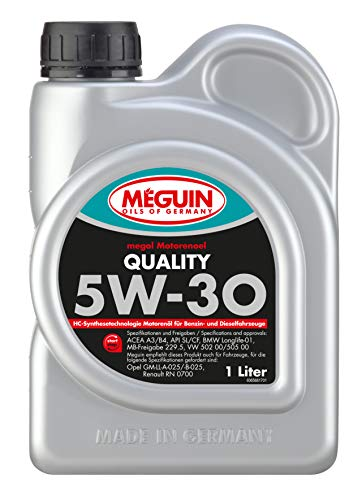 Meguin P002063 6566 Motoröl Megol Motoröl Quality SAE 5W-30, 1 L